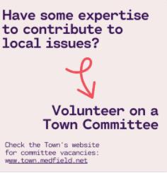 Volunteer on a Committee Image